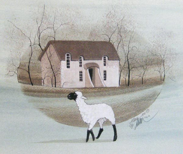 Pat Buckley Moss Cottage Visitor