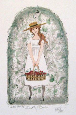 Pat Buckley Moss Emily's Berries
