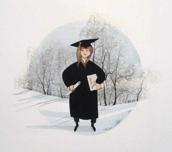 Pat Buckley Moss Graduation Boy