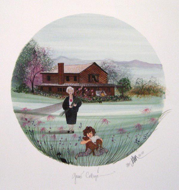 Pat Buckley Moss Gram's Cottage