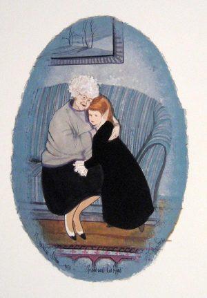 Pat Buckley Moss Grandma's Redhead