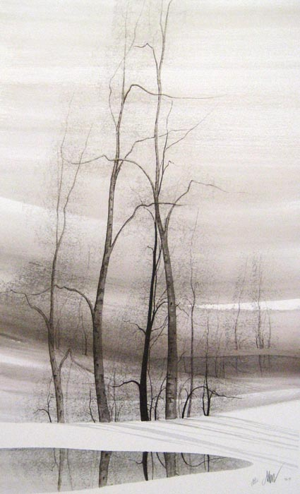 Pat Buckley Moss Grey Reflections