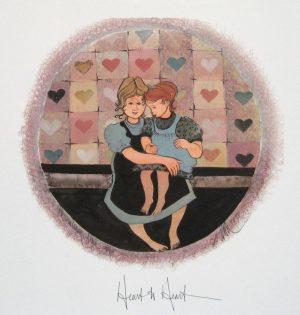 Pat Buckley Moss Heart to Heart