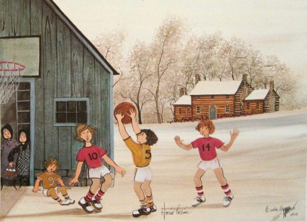 Pat Buckley Moss Hoosier Pastime