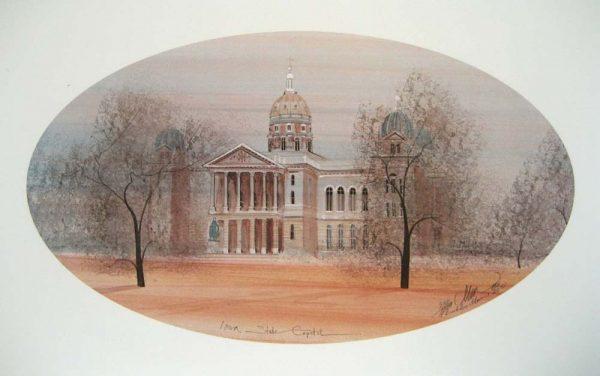 Pat Buckley Moss Iowa State Capitol
