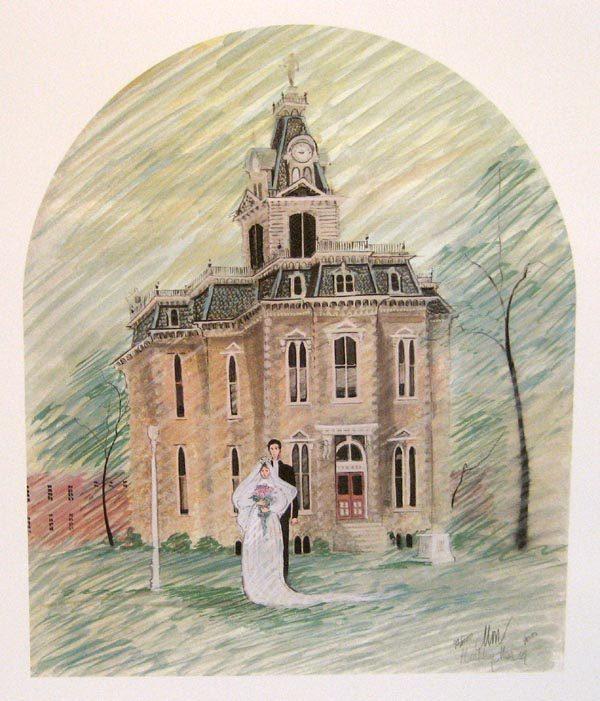 Pat Buckley Moss Iowa Wedding