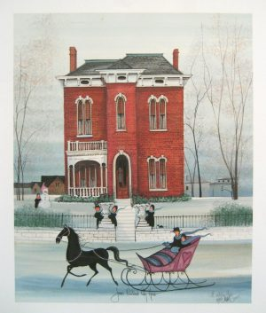 Pat Buckley Moss James Whitcomb Riley Home