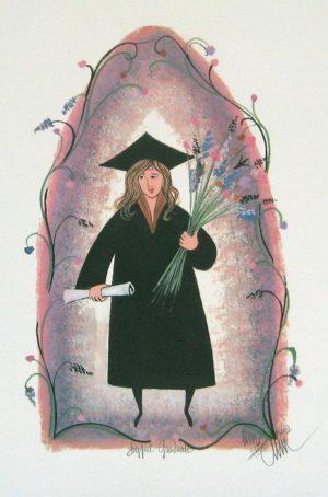 Pat Buckley Moss The Joyful Graduate