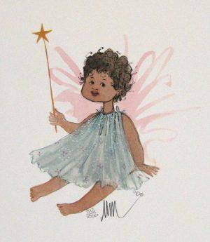 Pat Buckley Moss Little Angel