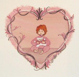 Pat Buckley Moss Little Sweetheart