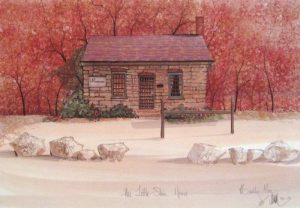 Pat Buckley Moss Little Stone House