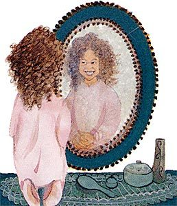 Pat Buckley Moss Mirror, Mirror on the Wall