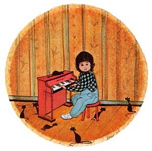Pat Buckley Moss Music Boy