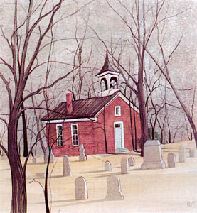 Pat Buckley Moss Old Brick Union Church