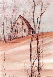 Pat Buckley Moss The Old Stone House