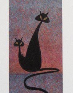 Pat Buckley Moss Pat's Black Cats
