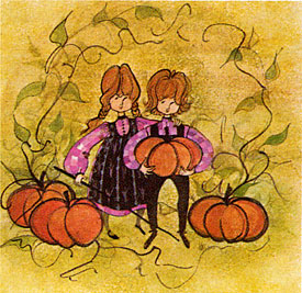 Pat Buckley Moss Pumpkin Kids