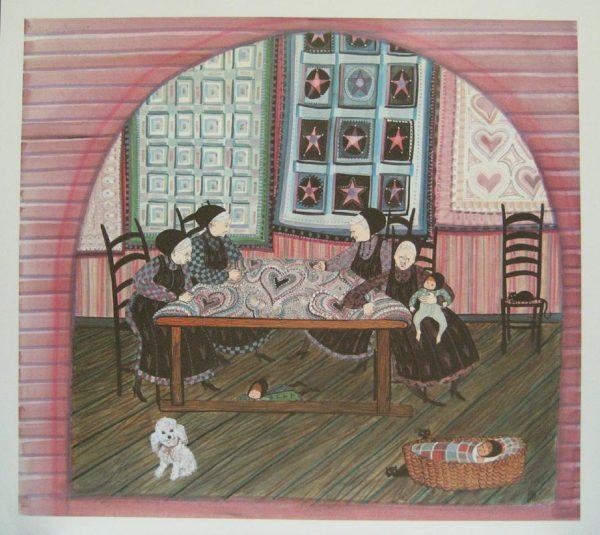 Pat Buckley Moss Quilting Grannies