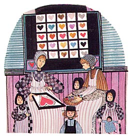 Pat Buckley Moss Quilting Hearts