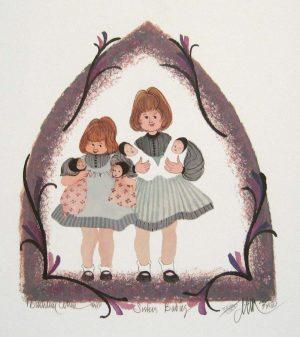 Pat Buckley Moss Sister's Babies