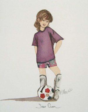 Pat Buckley Moss Soccer Queen