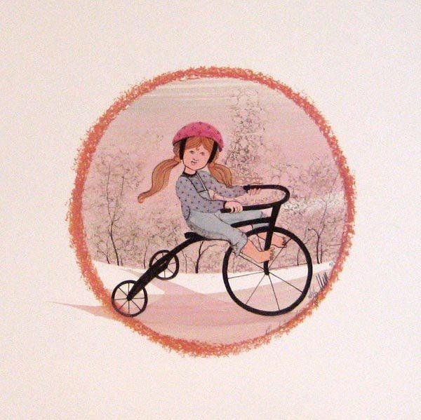 Pat Buckley Moss Stephanie's Ride