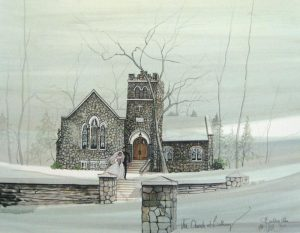 Pat Buckley Moss The Church at Bethany