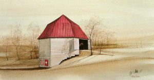 Pat Buckley Moss The Octagonal Barn