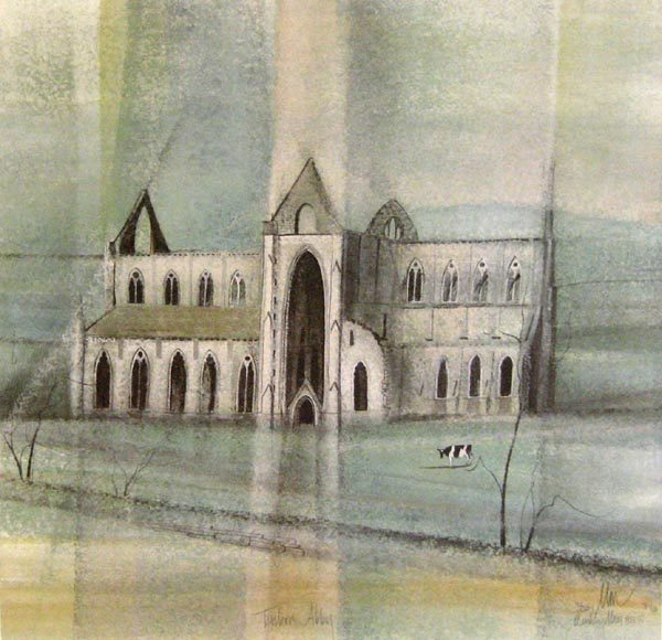 Pat Buckley Moss Tintern Abbey