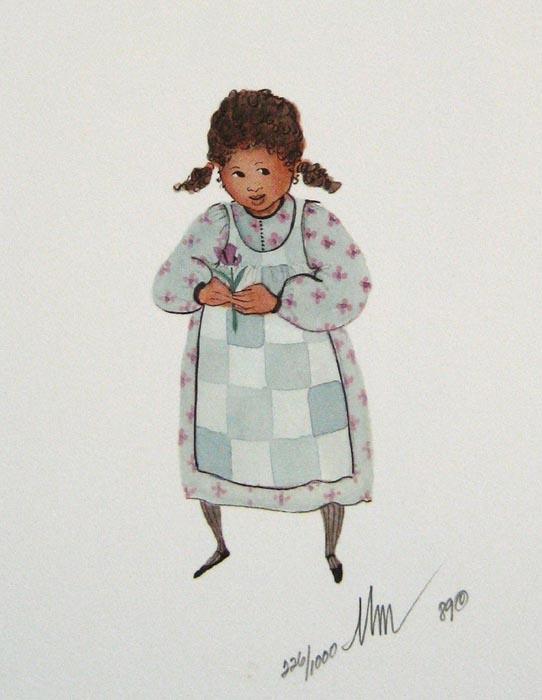 Pat Buckley Moss Violet
