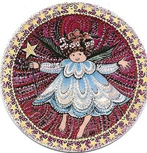 Pat Buckley Moss - Angel #2 Christmas Ornament