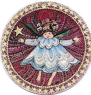 Pat Buckley Moss - Angel #2 Christmas Ornament