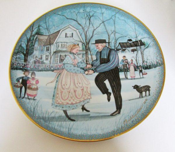 Pat Buckley Moss Anniversary Plate