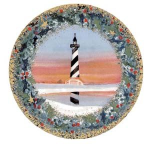 Pat Buckley Moss - Cape Hatteras Lighthouse Ornament