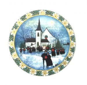 Pat Buckley Moss Christmas Carol Ornament