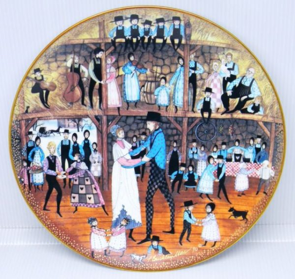 Pat Buckley Moss - Family Reunion Plate