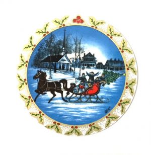 Pat Buckley Moss - Sleigh Ride Ornament