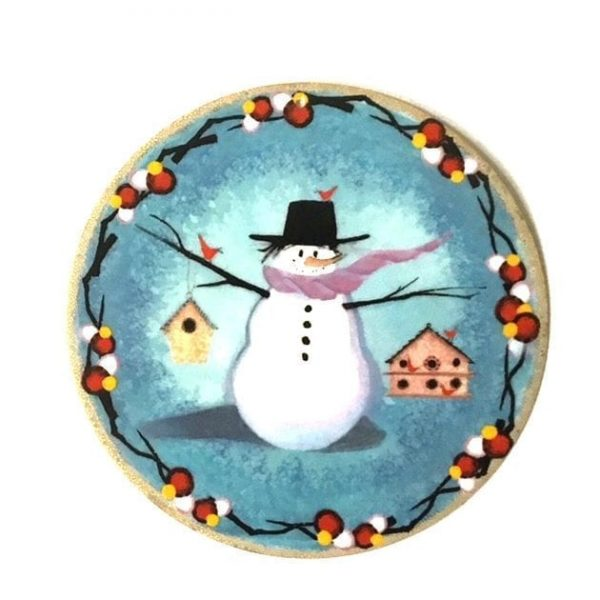 Pat Buckley Moss - Snow Many Friends Ornament