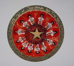 Pat Buckley Moss - Twelve Drummers Drumming Ornament