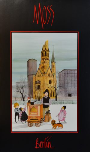 Pat Buckley Moss - Berlin Poster