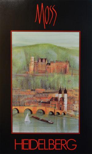 Pat Buckley Moss - Heidelberg Poster