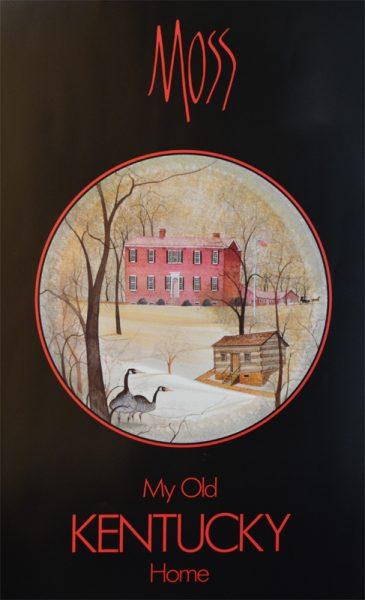 Pat Buckley Moss - My Old Kentucky Home Poster