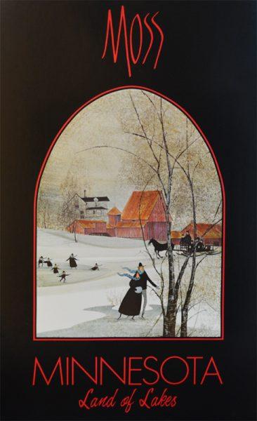 Pat Buckley Moss - Minnesota Poster