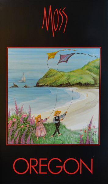 Pat Buckley Moss - Oregon Poster