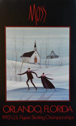 Pat Buckley Moss - Orlando Poster