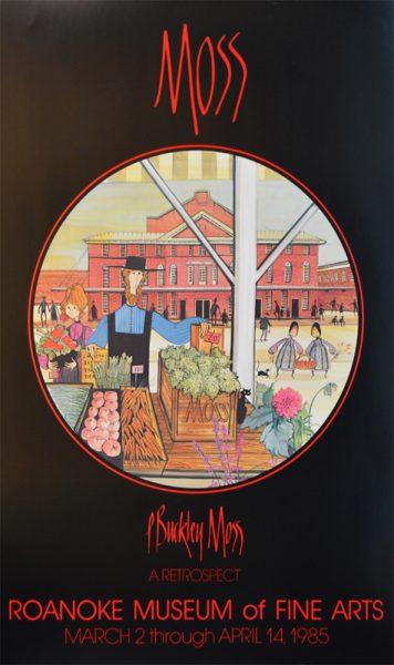 Pat Buckley Moss - Roanoke MFA Poster