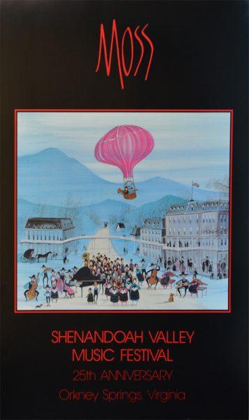 Pat Buckley Moss - Shenandoah Valley Poster