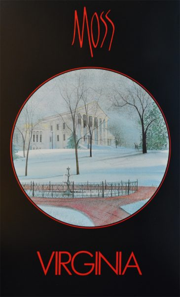Pat Buckley Moss - Virginia Poster