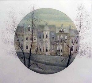 Pat Buckley Moss Etching - Georgetown